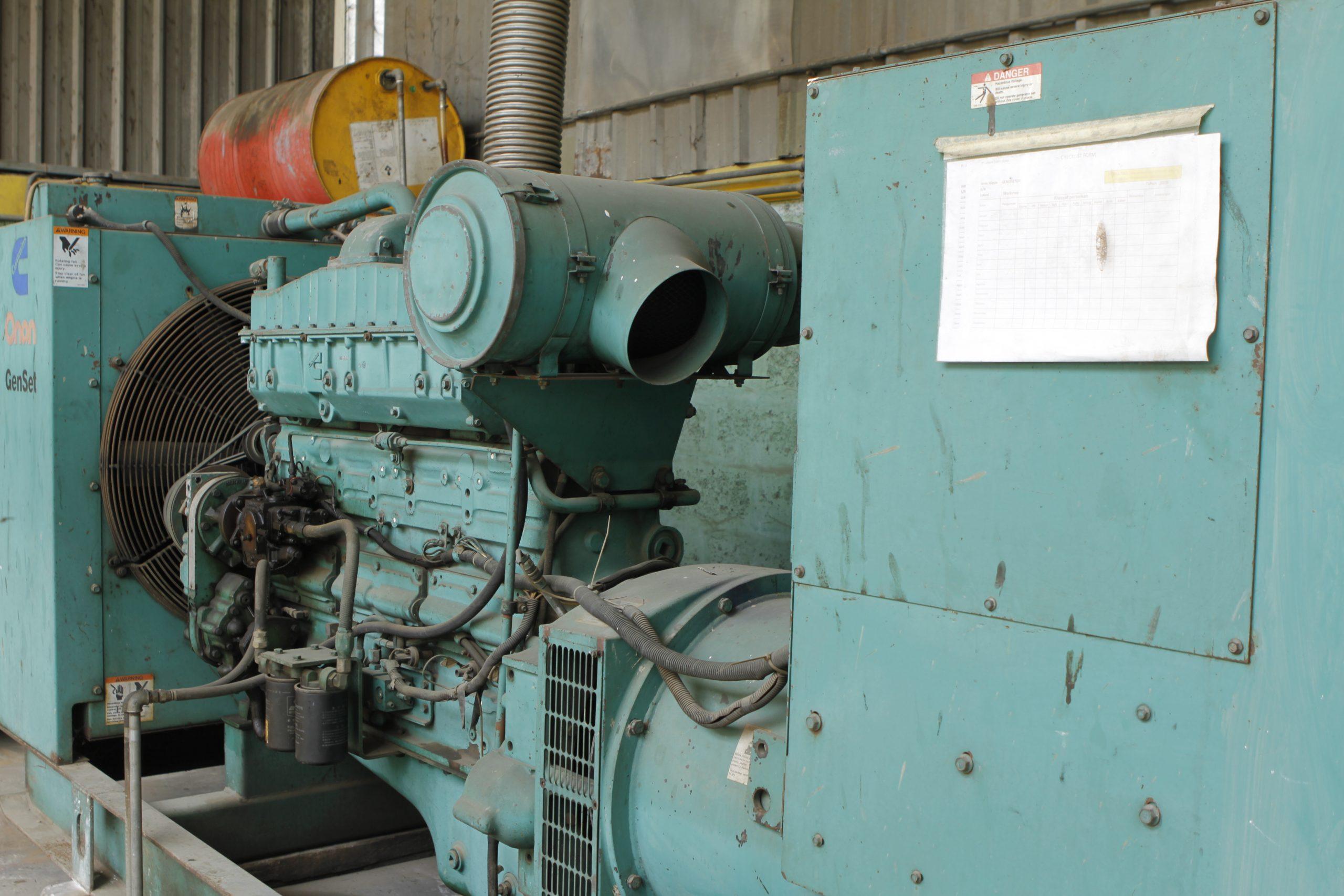 Genset 350 kVA